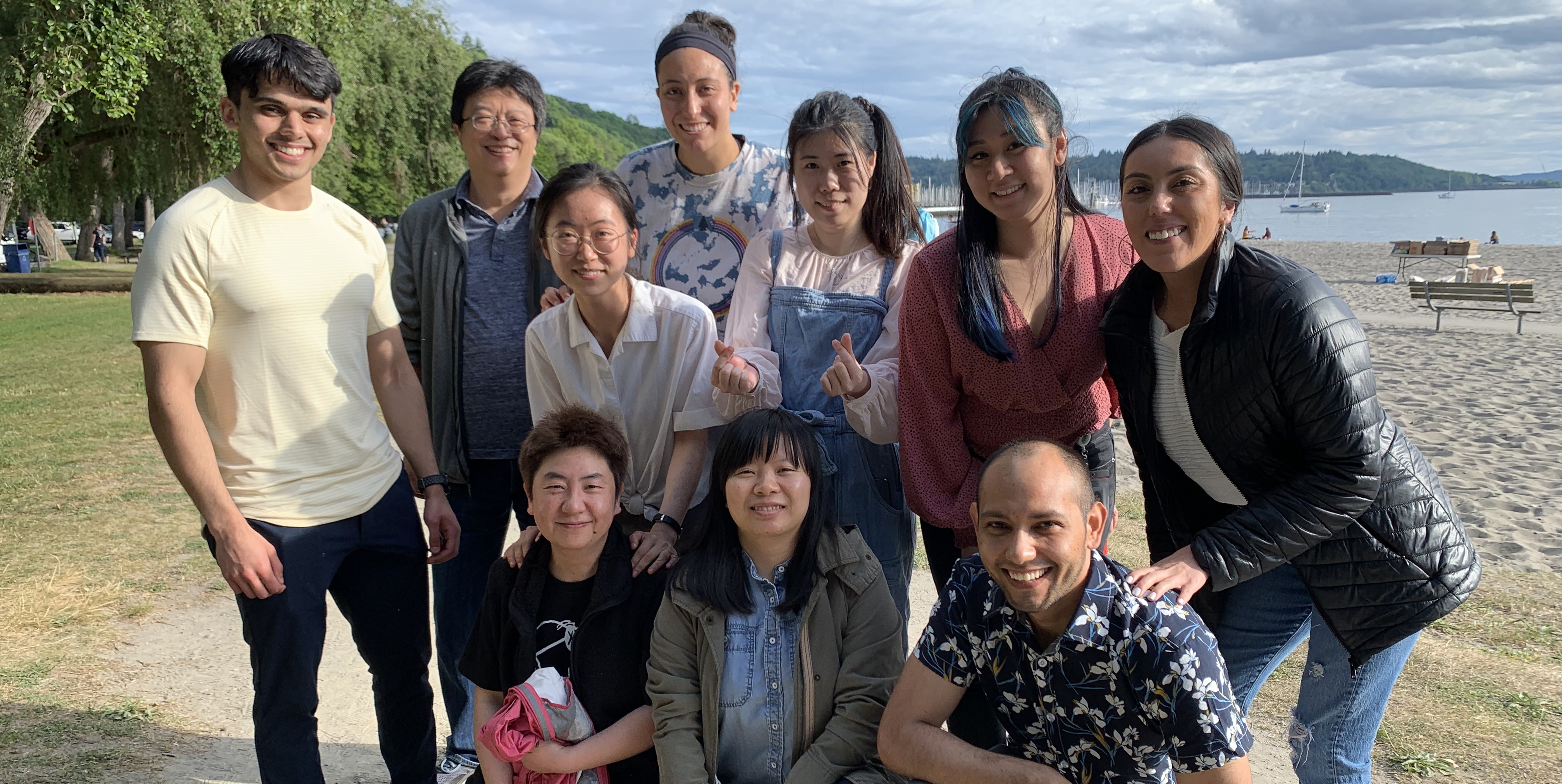 Bai lab group photo