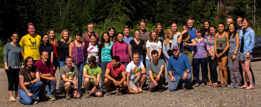 Joint lab retreat with the Bedford and Hensley labs at Sahalie Lodge in July