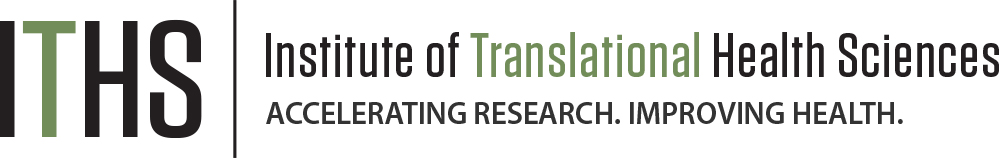 Logo for the Institute of Translational Health Sciences