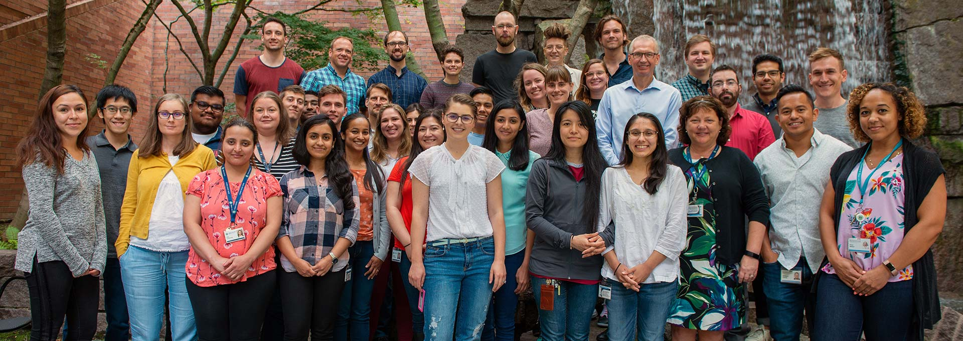 A group photo of members of the Kiem Lab