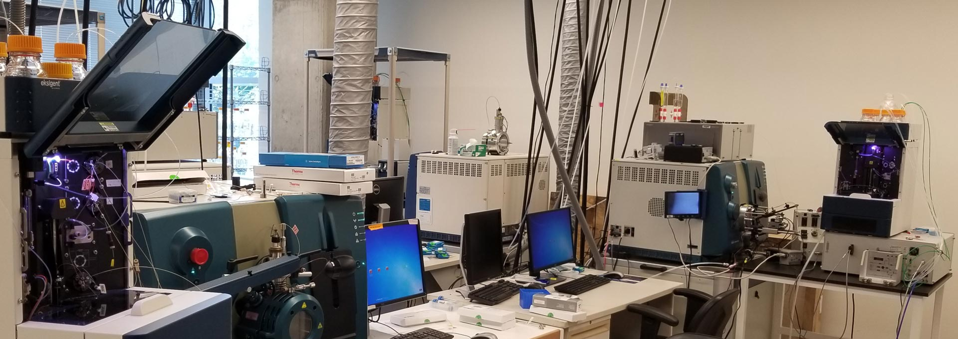 Equipment in the Paulovich lab
