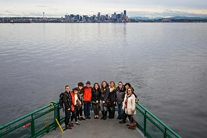 The Infection Prevention team on an outing to Bainbridge Island!