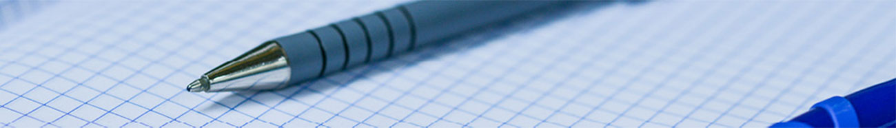 Image of a pen and paper