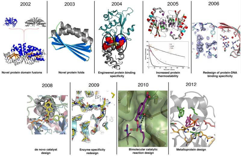 Protein and enzyme structure images