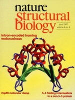 Structure of the I-CreI intron-encoded endonuclease: a novel fold that binds and cleaves a long DNA target sequence, Nature Structural Biology
